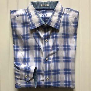 a1eae4c0 Bugatchi Shirts - BUGATCHI Uomo Long Sleeve Button Down! NWOTS. L